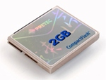 Pretec社メタルコンパクトフラッシュ (TAKUMIシリーズ) 2GB