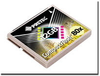 コンパクトフラッシュ12GB