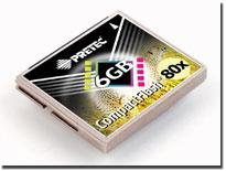 コンパクトフラッシュ6GB