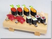 """すし型USB Memory""""SushiDisk""""を発売"""